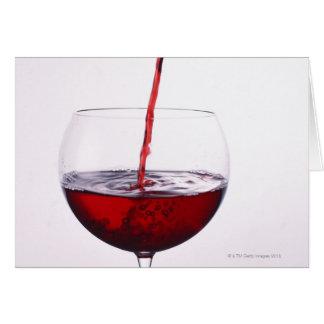 Cartes Vin rouge