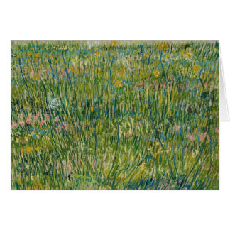 Cartes Vincent van Gogh - correction d'herbe