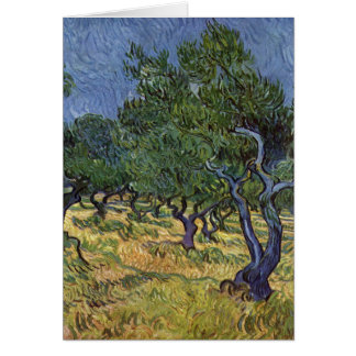 Cartes Vincent van Gogh - verger olive
