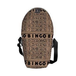 cartes vintages de bingo-test besace