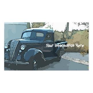 Cartes vintages de commerce de l'automobile du Hud Carte De Visite