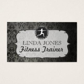 Cartes vintages d'entraîneur de forme physique de