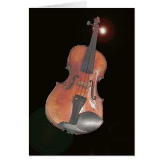 Cartes violon