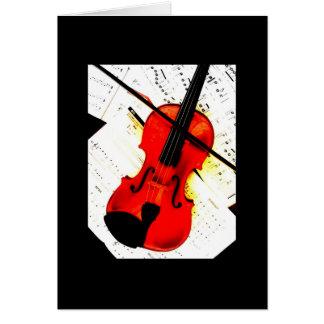 Cartes Violon classique