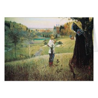 Cartes Vision de Mikhail Nesterov- du jeune Bartholomew