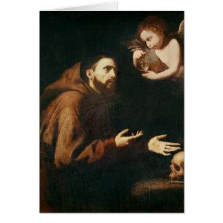 Cartes Vision de St Francis d'Assisi