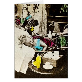 Cartes Visions des prunes de sucre - Stereoview vintage