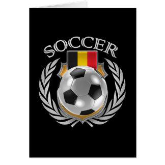 Cartes Vitesse de fan du football 2016 de la Belgique