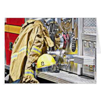 Cartes Vitesse et camion de pompiers de pompier de HDR