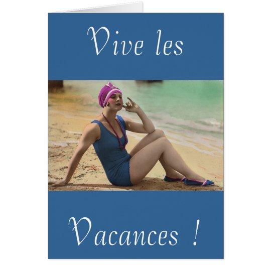 Cartes Vives les vacances