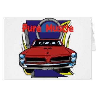 Cartes Voiture de muscle de 1966 GTO