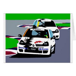 Cartes Voitures de course de Renault Clio