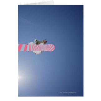Cartes Vol de surfeur par l'air