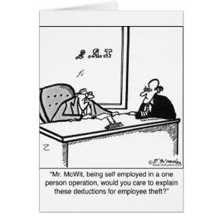 Cartes Vol indépendant et des employés