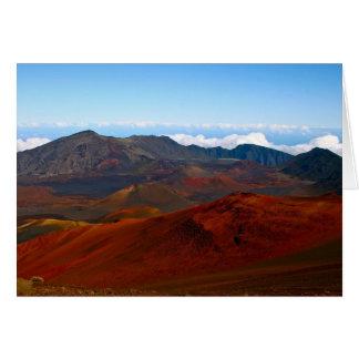 Cartes Volcan de Haleakala, Maui