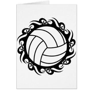 Cartes volleyball tribal