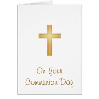 Cartes Votre jour de communion