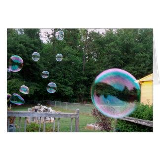 Cartes Vous a soufflés une bulle aujourd'hui