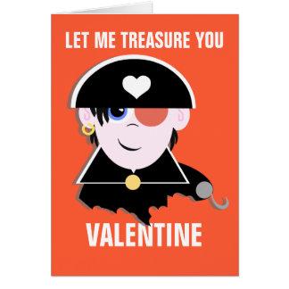 Cartes Vous êtes mon trésor Valentine