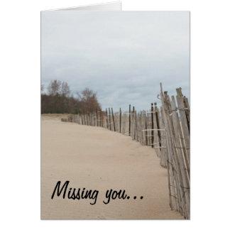 Cartes Vous manquer