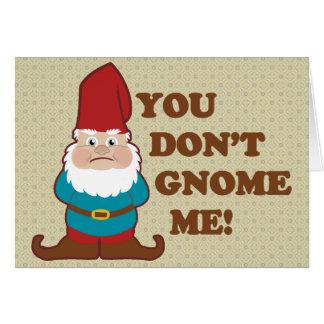 Cartes Vous ne faites pas gnome je !