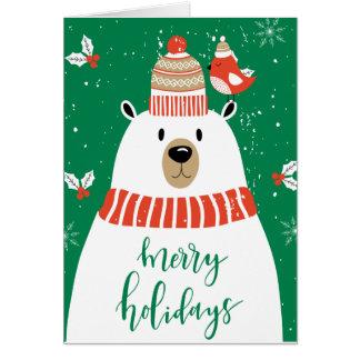 Cartes Vous souhaitant très Noël de Beary