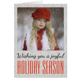 Cartes Vous souhaitant une saison des vacances joyeuse