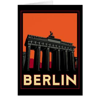Cartes voyage de l'art déco oktoberfest de Berlin
