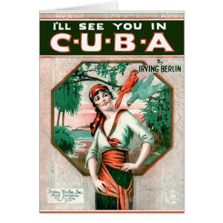 Cartes Voyez-vous au Cuba