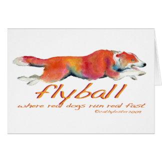 Cartes Vrais chiens de Flyball