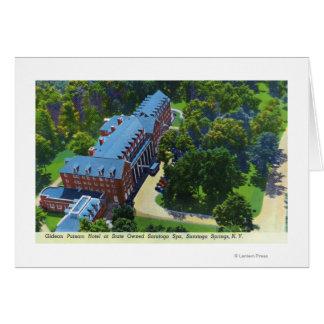 Cartes Vue aérienne de l'hôtel de Gideon Putnam, spa
