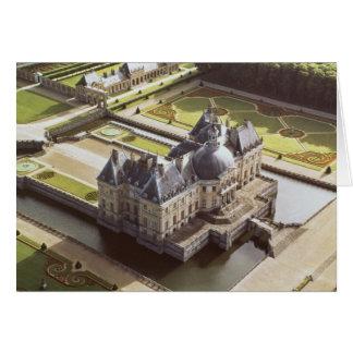 Cartes Vue aérienne du château, conçue pour Nicholas