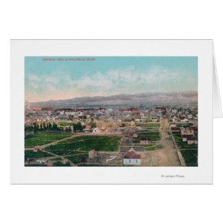Cartes Vue aérienne du CityPocatello, identification