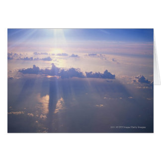 Cartes Vue au-dessus de nuage dense
