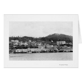 Cartes Vue de bord de mer de Ketchikan, photographie de