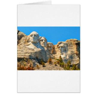 Cartes Vue de classique du mont Rushmore