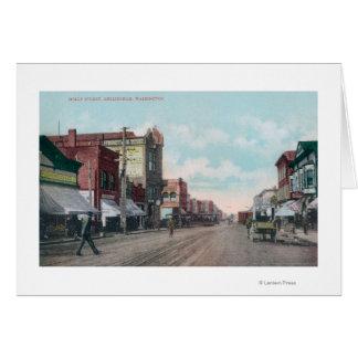 Cartes Vue de houx StreetBellingham, WA