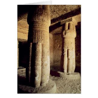 Cartes Vue de la chapelle de tombe de Meryre, nouveau