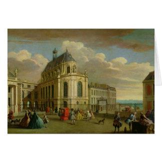 Cartes Vue de la chapelle du château De