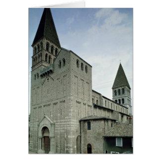 Cartes Vue de la façade occidentale, 10ème-11ème siècle