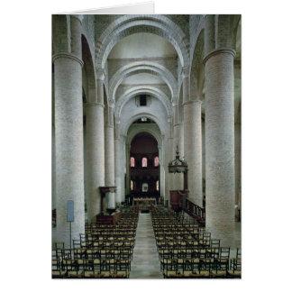 Cartes Vue de la nef, regardant vers l'autel