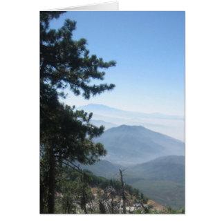 Cartes Vue de montagne