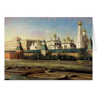 Cartes Vue de Moscou Kremlin du remblai