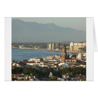 Cartes Vue de Puerto Vallarta du centre