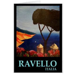 Cartes Vue de Ravello Salerno Italie de côte d'Amalfi