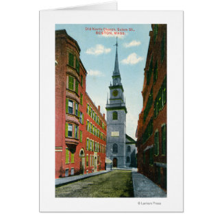 Cartes Vue de rue de Salem de vieille église du nord
