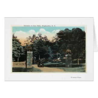 Cartes Vue d'entrée de parc de Ross