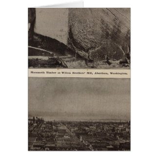 Cartes Vue d'oeil d'oiseau de moulin de Wilson Bros