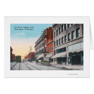 Cartes Vue du sud de rue d'élans