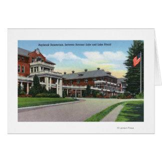 Cartes Vue extérieure de sanatorium de Raybrook
